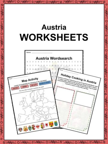 Austria Worksheets