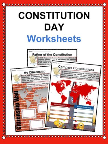 Constitution Day Worksheet