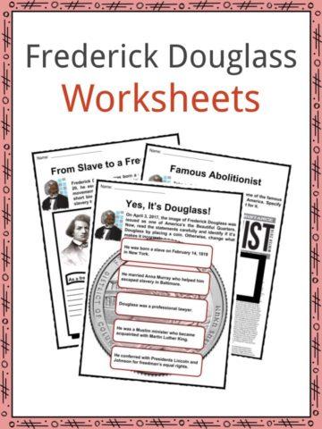 Frederick Douglass Worksheets