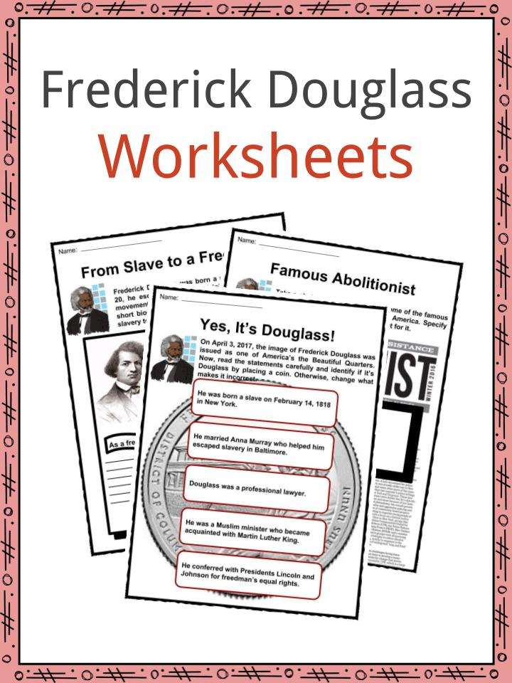 Frederick Douglass Worksheets
