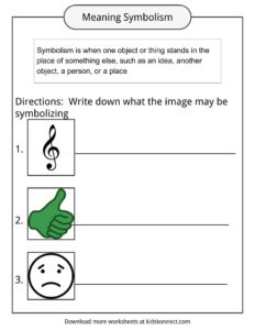 Symbolism Examples, Definition & Worksheets For Kids