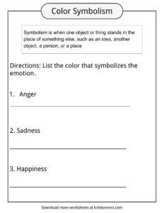 English worksheets: Animal symbolism