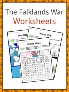 The Falklands War Worksheets