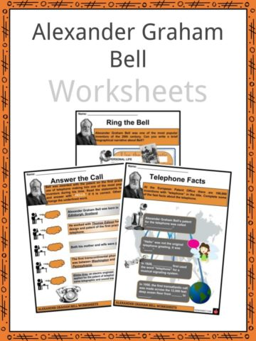 Alexander Graham Bell Worksheets