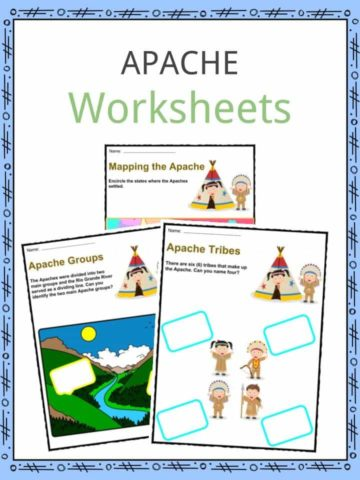 Apache Tribe Worksheets