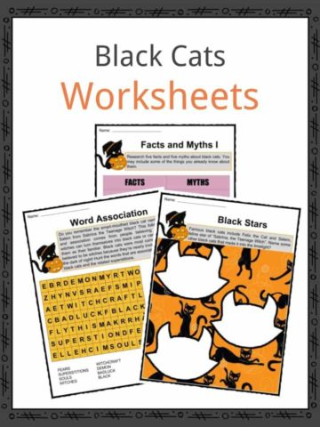 Black Cats Worksheets
