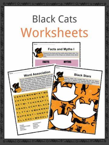 Black Cats Worksheets