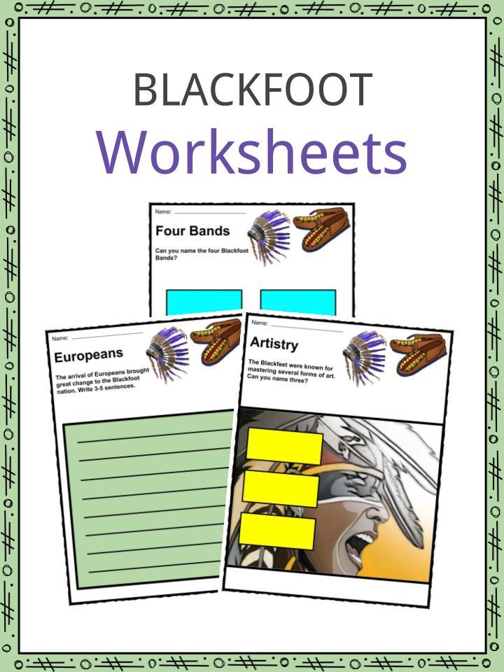 Blackfoot Worksheets