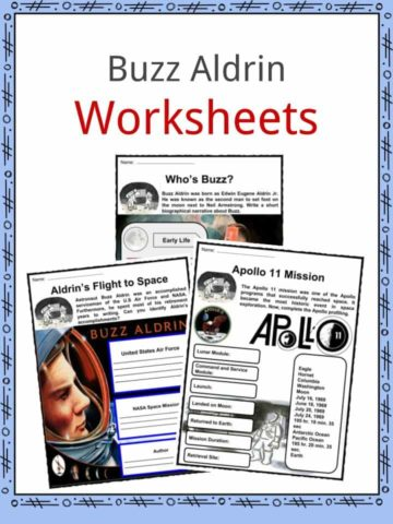 Buzz Aldrin Worksheets