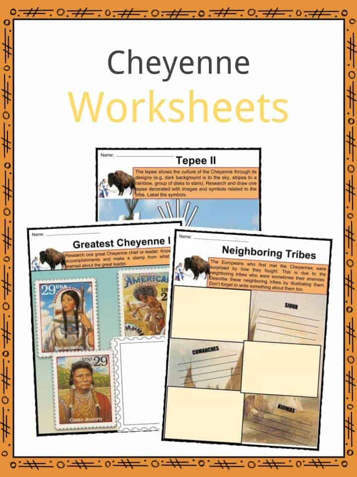 Cheyenne Worksheets