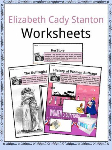 Elizabeth Cady Stanton Worksheets