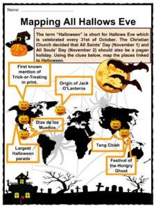 Halloween Facts, Information & Worksheets | Teacher Resources