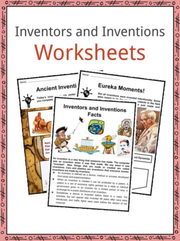Inventors and Inventions Worksheets
