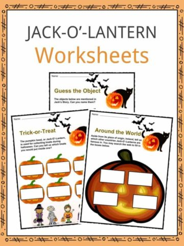 Jack-O-Lantern Worksheets