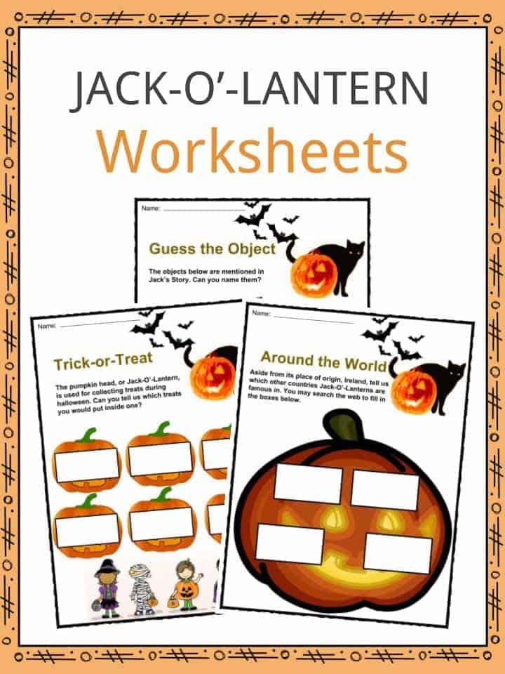 Jack-O-Lantern Worksheets