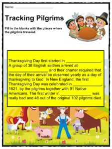 Thanksgiving Day Proclamation Facts, Worksheets & History