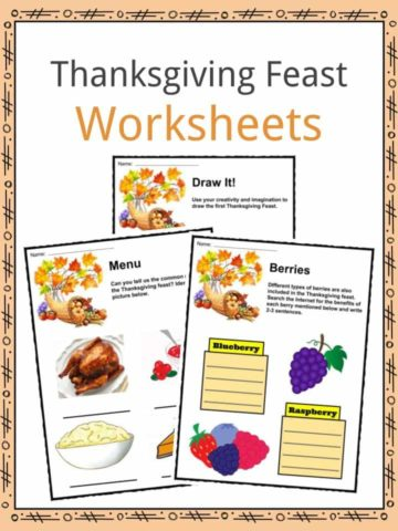 Thanksgiving Feast Worksheets