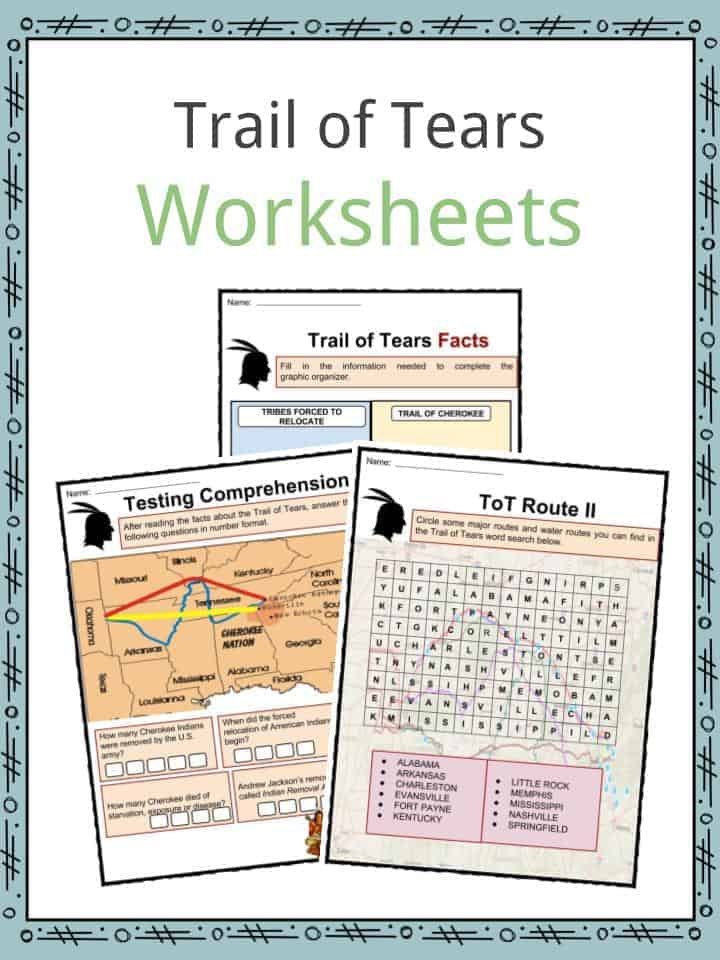 trail of tears worksheets resultinfos. Black Bedroom Furniture Sets. Home Design Ideas