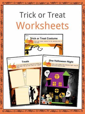 Trick or Treat Worksheets
