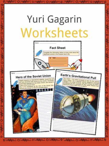 Yuri Gagarin Worksheets