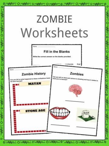 Zombie Worksheets