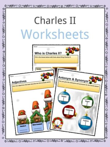 Charles II Worksheets