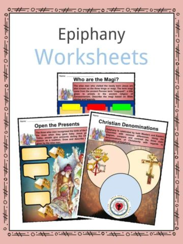Epiphany Worksheets