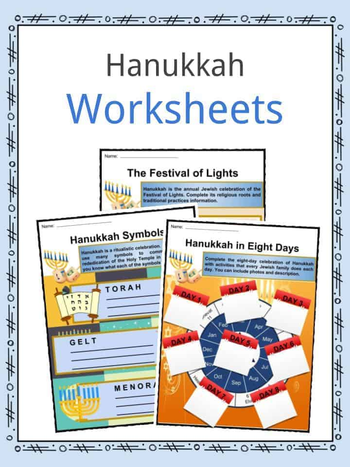 graphic about Hanukkah Prayer Printable identify Hanukkah Details, Worksheets, Observance Written content For Youngsters