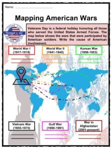 Veterans Day Facts Worksheets Historical Information For Kids
