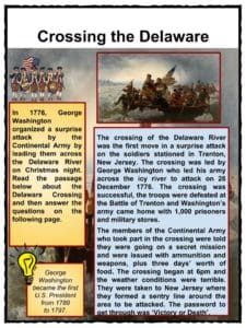 washington crossing the delaware painting facts