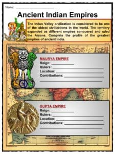 ancient india facts worksheets religion culture for kids. Black Bedroom Furniture Sets. Home Design Ideas