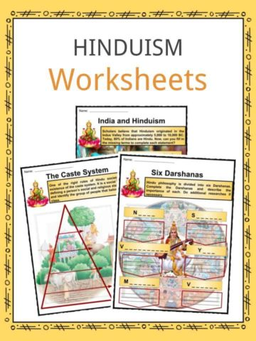 Hinduism Worksheets