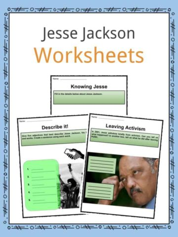 Jesse Jackson Worksheets