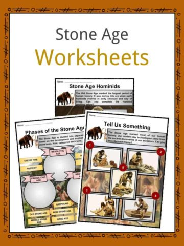 Stone Age Worksheets