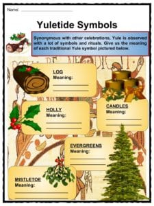 Yule Facts, Worksheets & Historical Significance For Kids
