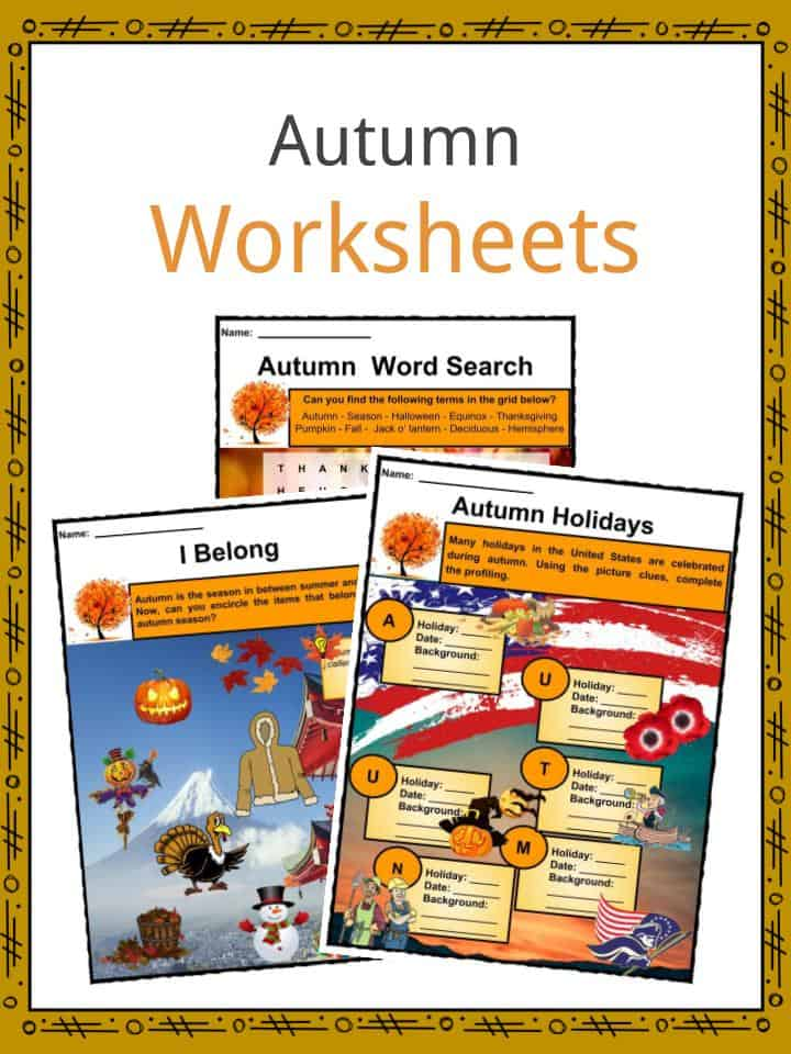 Translations Into Italian: Autumn Facts, Worksheets, Information & Key