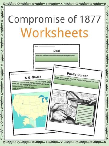 Compromise of 1877 Worksheets