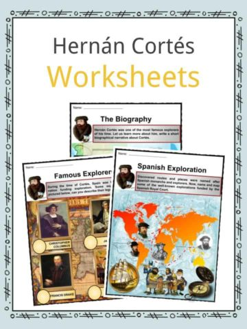 Hernan Cortes Worksheets