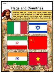 marco polo facts worksheets exploration history biography for kids. Black Bedroom Furniture Sets. Home Design Ideas