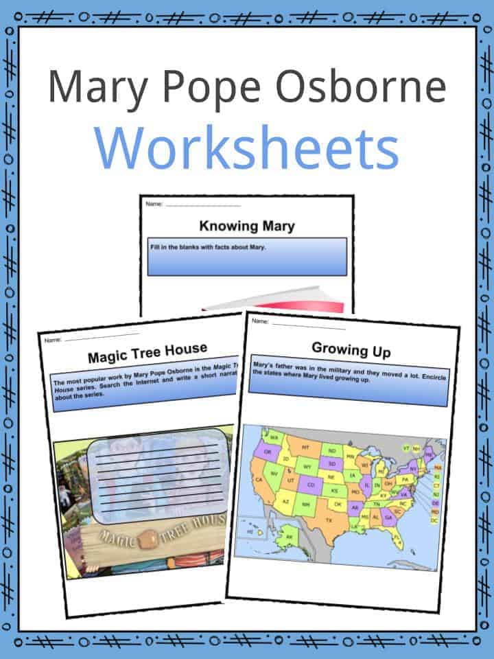 Mary Pope Osborne Worksheets