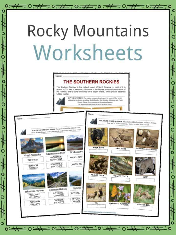 Rocky Mountains Facts, Worksheets, Inhabitants & History ...