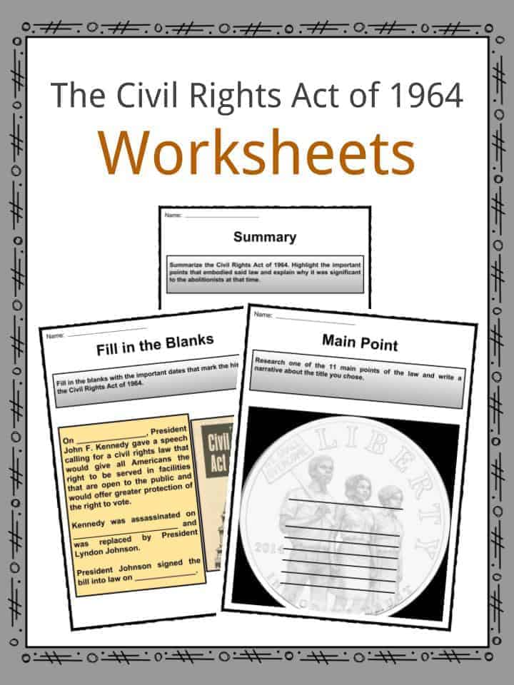 Us Policies Legislation Facts Worksheets Lesson Resources For Kids