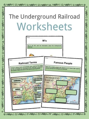 The Underground Railroad Worksheets