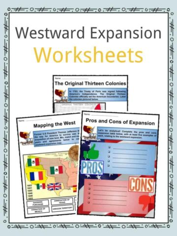 Westward Expansion Worksheets