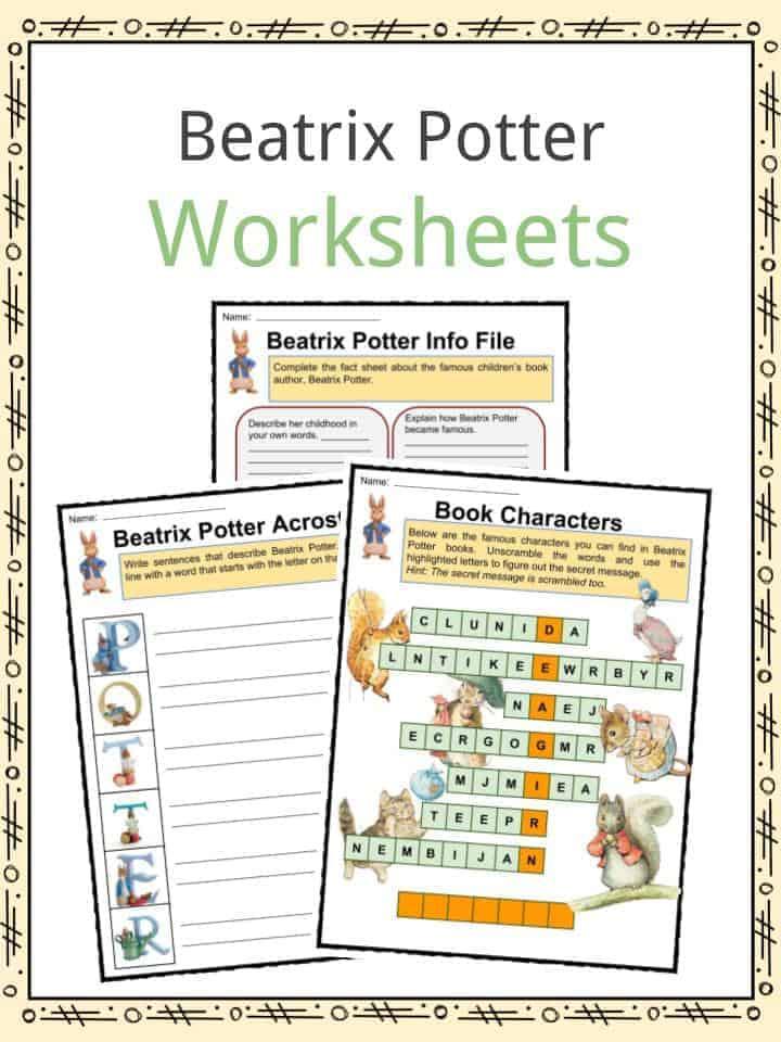 Beatrix Potter Worksheets
