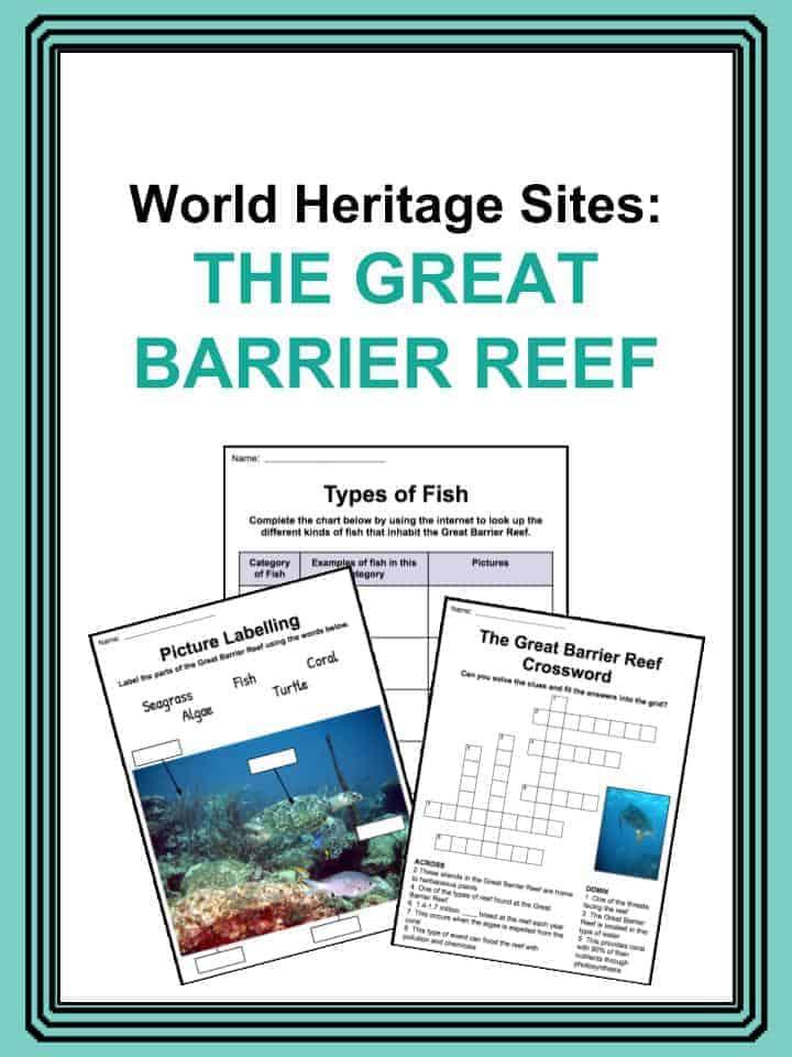 Great Barrier Reef Worksheets