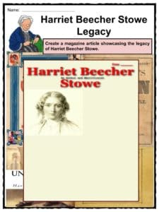 a biography and life work of harriet elisabeth beecher stowe an american novelist Life and work harriet elisabeth beecher was in 1942 for his biography of harriet beecher stowe novel from american author harriet beecher stowe.