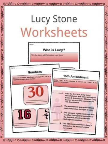 Lucy Stone Worksheets
