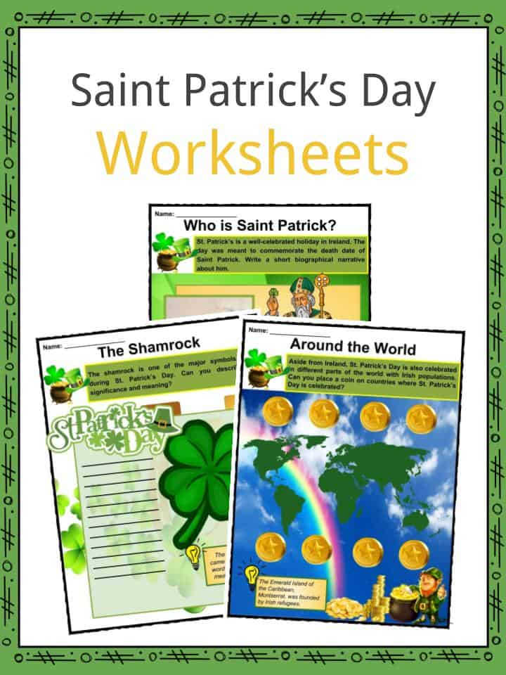 Saint Patrick's Day Worksheets