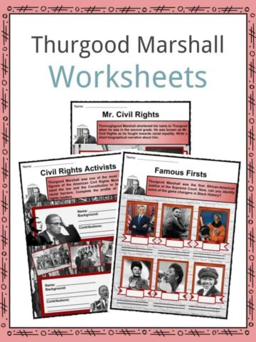 Thurgood Marshall Worksheets
